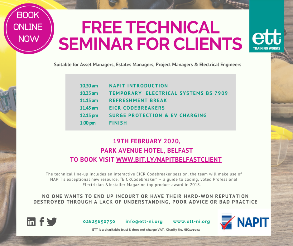 FREE Technical event for Clients