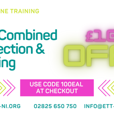 £100 Off – EAL Electrical Installation Inspection Testing Certification and Reporting [equivalent to the City & Guilds 2391-52]